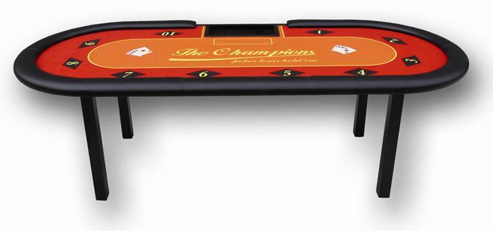 Tavolo da gioco poker ovale texas hold 39 em professionale da - Tavolo poker texas hold em ...