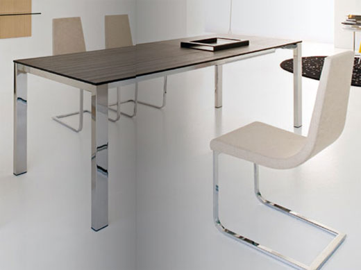 Tavolo consolle allungabile calligaris design casa for Tavolo cemento calligaris