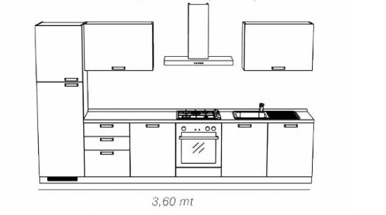 Cucina tess scavolini - Composizione tipo cucina mondo convenienza ...