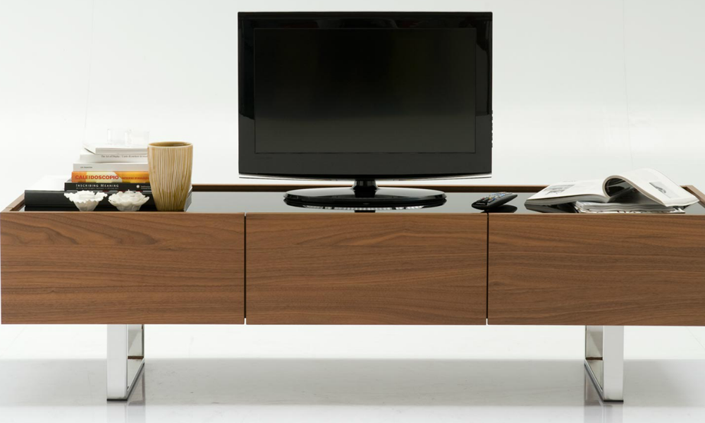 Horizon porta tv in legno e metallo - Calligaris porta tv ...