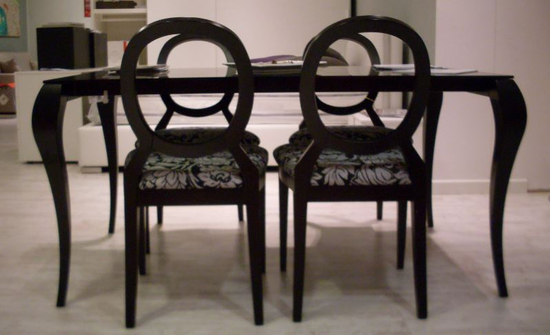 tavolo ghost pi 4 sedie miniforms offerta outlet