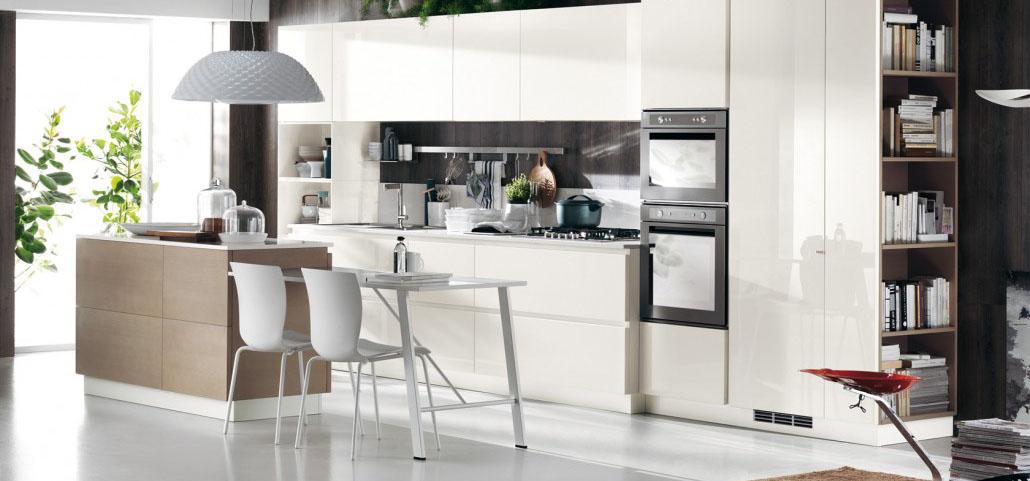 Promozione Cucine. Perfect Cucina Artematica Vitrum Con Isola ...