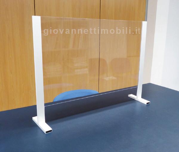Barriera protettiva STOP COVID per scrivania