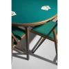 Tavolo da gioco tondo pieghevole MOON diam. 100 cm